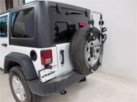2016 Jeep Wrangler Unlimited Spare Tire Bike Racks - Thule