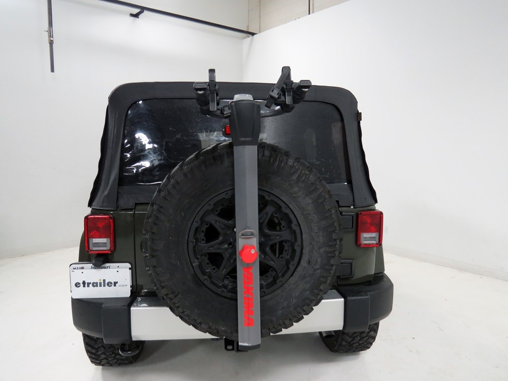 2006 Jeep Wrangler Spare Tire Bike Racks Yakima