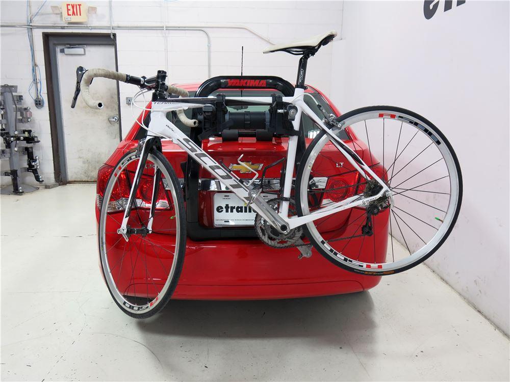 Toyota Prius C Yakima Fullback 2 Bike Rack Trunk Mount