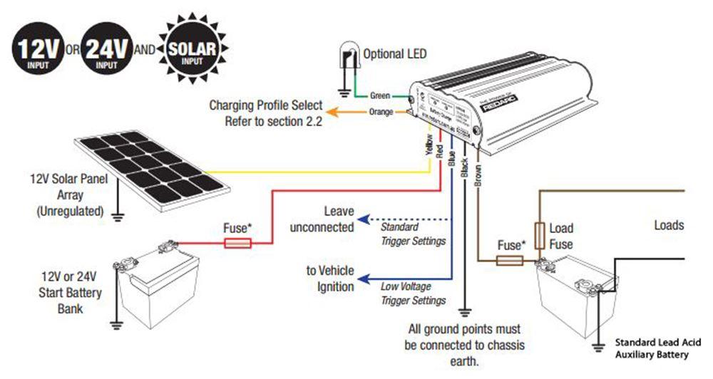 led wiring diagram dc