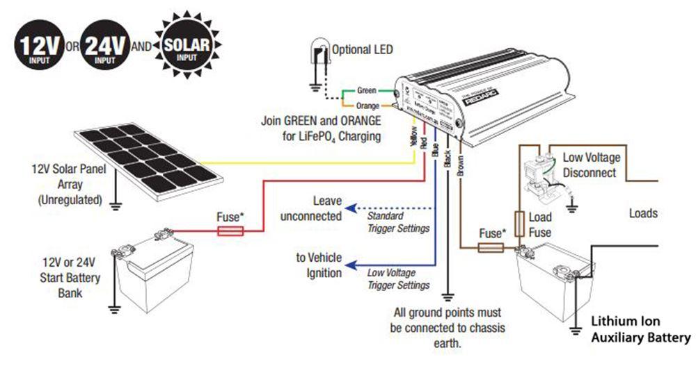 redarc dual battery wiring diagram