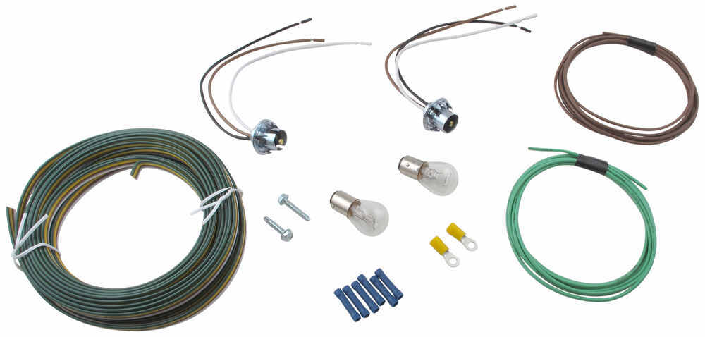Blue Ox Tail Light Wiring Kit - Bulb and Socket Blue Ox Tow Bar