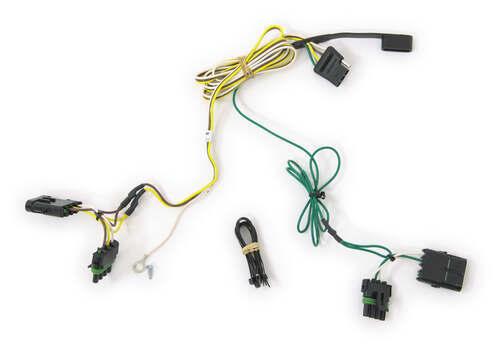 harley trailer hitch wiring harness