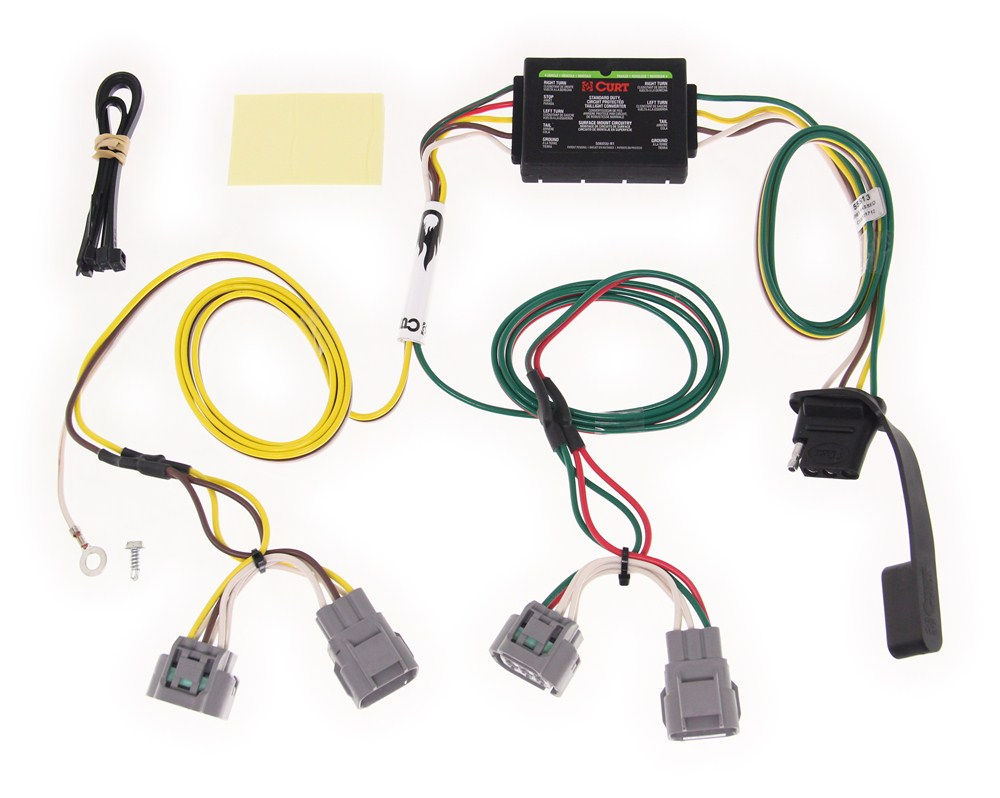 2009 tacoma trailer wiring harness