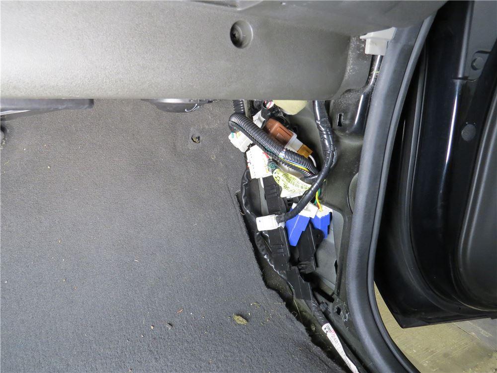 trailer wiring harness installed