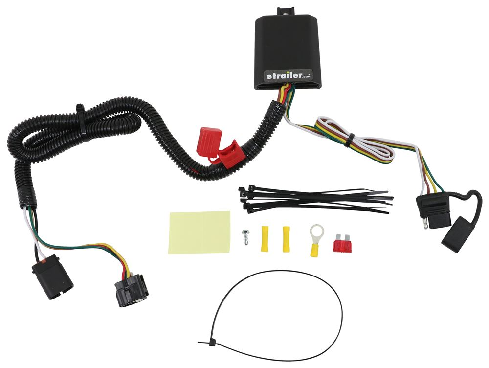 Curt T-Connector Vehicle Wiring Harness for Factory Tow Package - 4