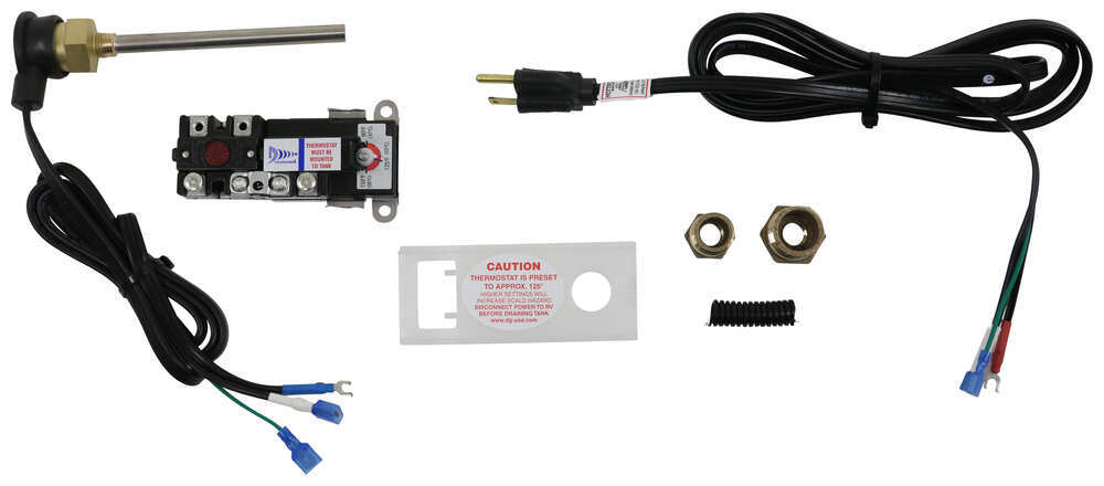 Hott Rod RV Water Heater Conversion Kit - Propane to Electric - 400