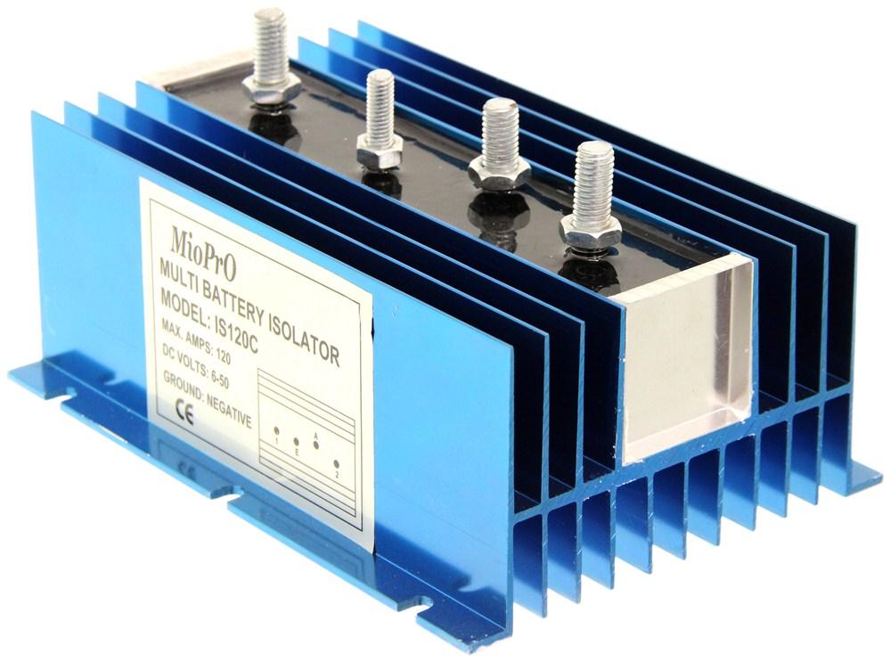 Deka Battery Isolator - 120 Amp Deka Battery Chargers DW08771