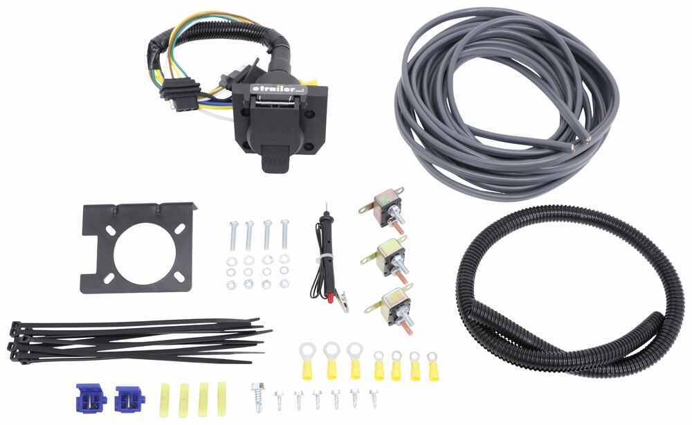 Universal Installation Kit for Trailer Brake Controller - 7-Way RV