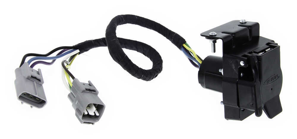 Hopkins Plug-In Simple Vehicle Wiring Harness for Factory Tow
