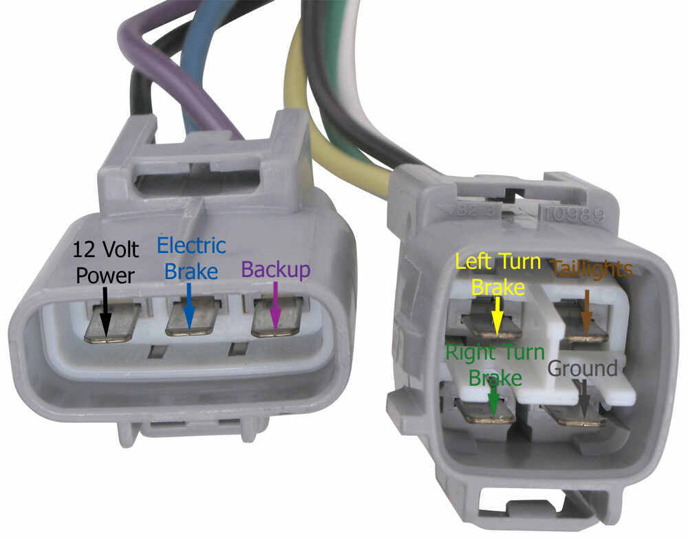 Picture Of 4 Pin Wiring Harness Toyota Better Wiring Diagram Online