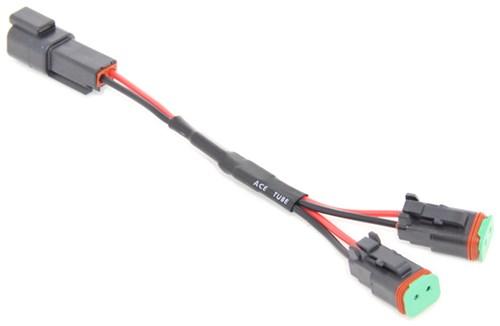 Compare Wiring Harness vs Y-Adapter Splitter etrailer