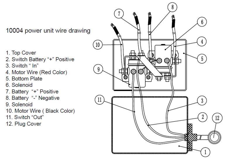 Power Winch Solenoid Wiring Diagram Wiring Diagram