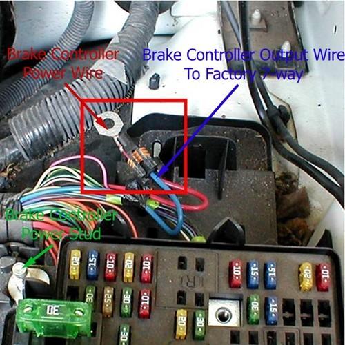 06 Dodge Ram Fuse Box Using 3025 P Wiring Adapter To Install Brake Controller