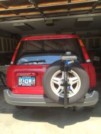 Surco Spare Tire 3-Bike Carrier Surco Products Spare Tire ...