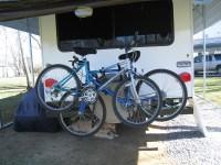 RV Bumper 2 Bike Rack for Around the Spare Tire - Swagman ...