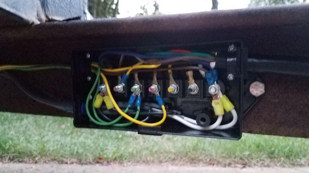 Epicord 7-Way Molded Trailer Plug with Junction Box - 10\u0027 Long