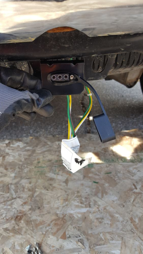 Mounting Bracket 4-Pole Flat Tow Ready Accessories and Parts 18144