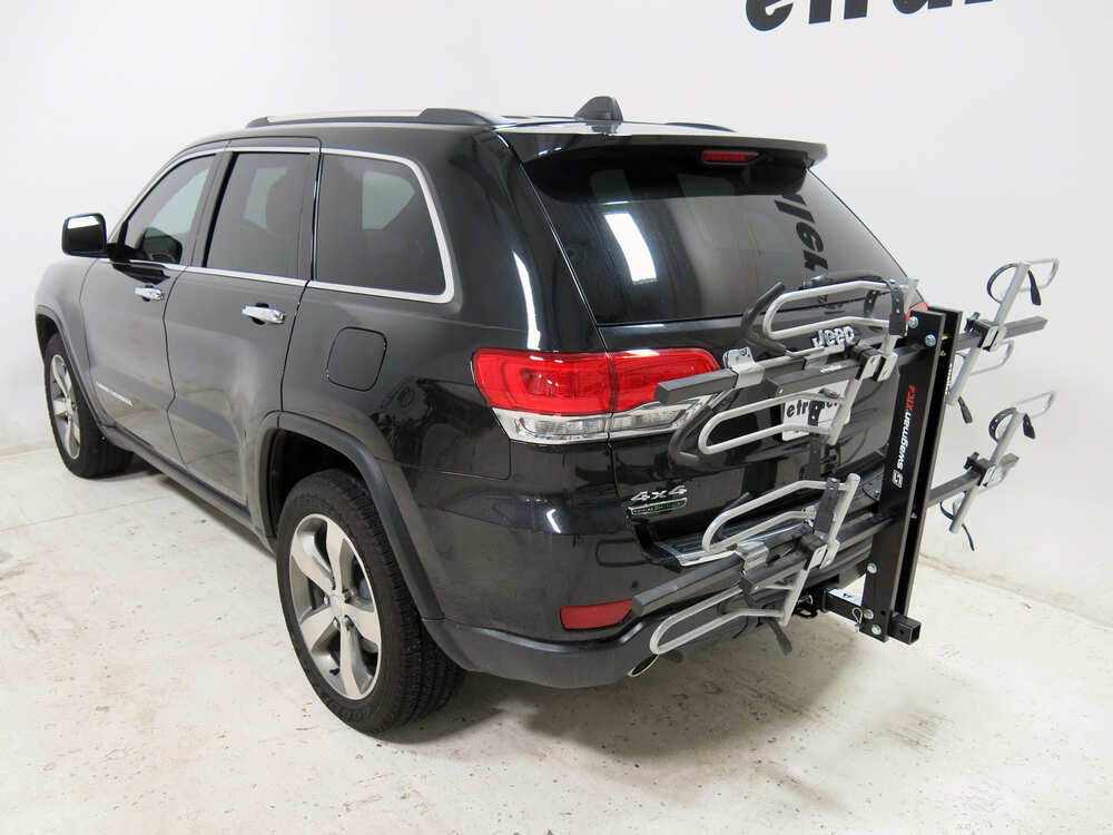 2004 Jeep Grand Cherokee Swagman Xtc4 4 Bike Rack For 2quot Hitches  Platform Style