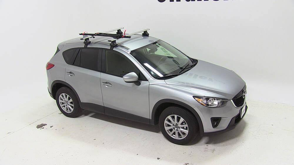 2013 Mazda Cx 5 Upright Roof Bike Carrier