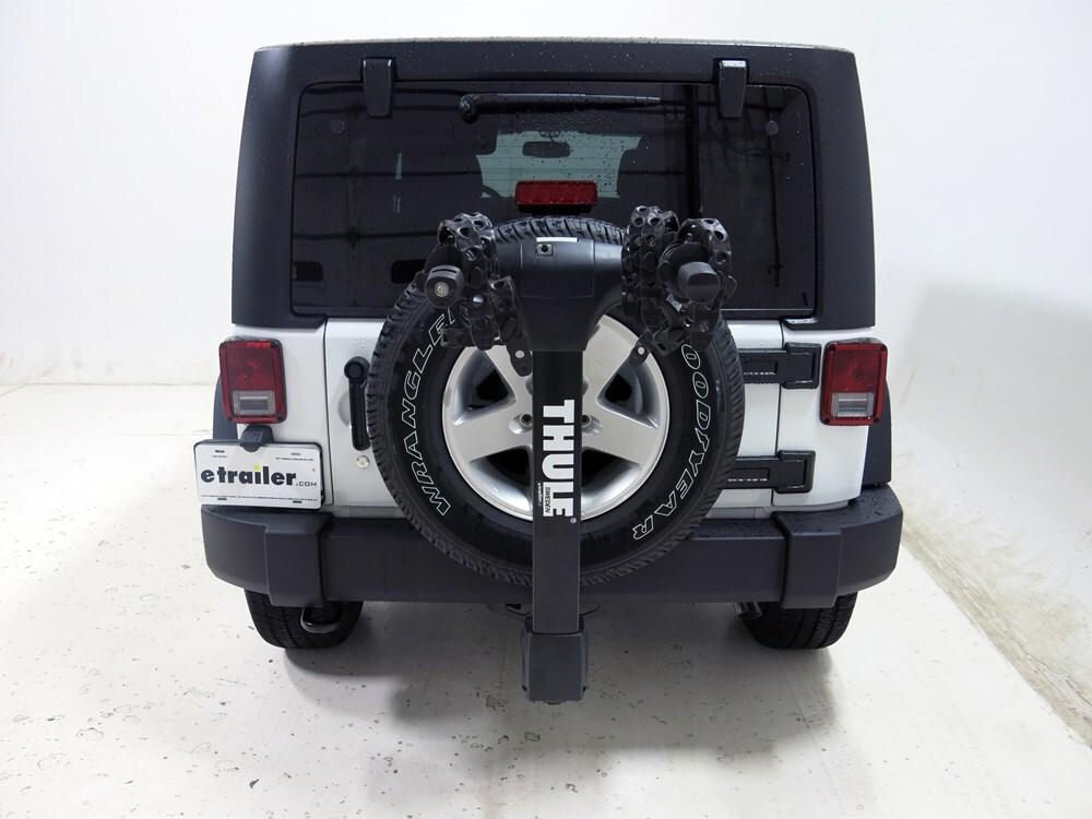 Jeep Wrangler Thule Vertex 4 Bike Rack 1 1 4quot And 2