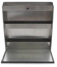 Tow-Rax Aluminum Storage Cabinet w/ Folding Tray - 30 ...