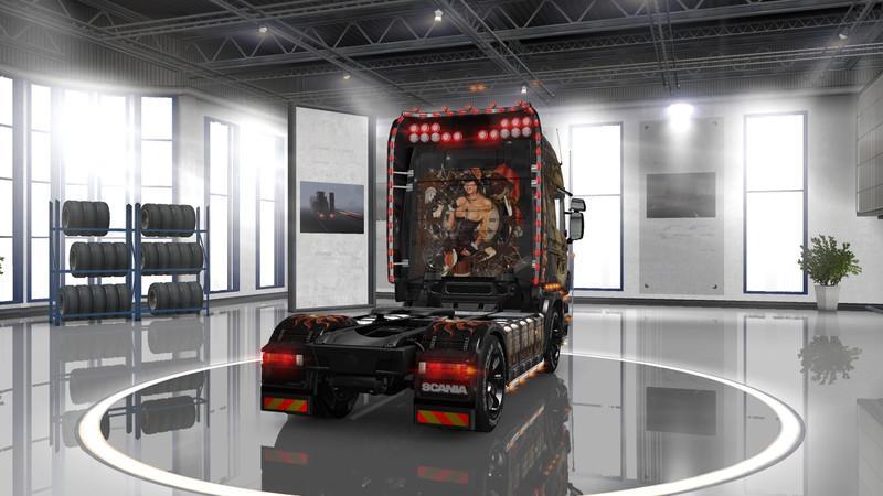 Steampunk Girl Wallpaper Hd Scania R Steampunk Skin V1 0 Mod Euro Truck Simulator 2 Mods