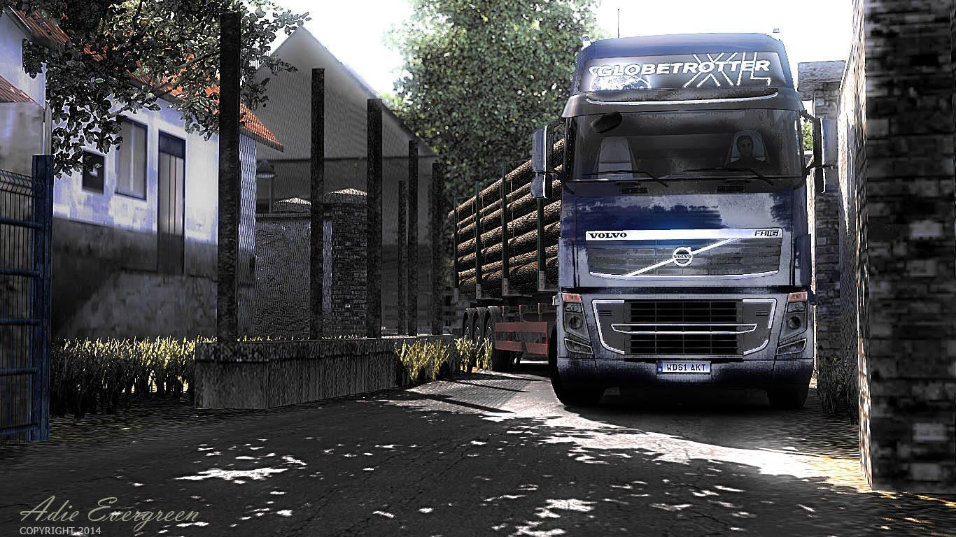 Volvo Wallpaper Hd Icrf Map Sukabumi By Adievergreen1976 Ets 2 Euro Truck