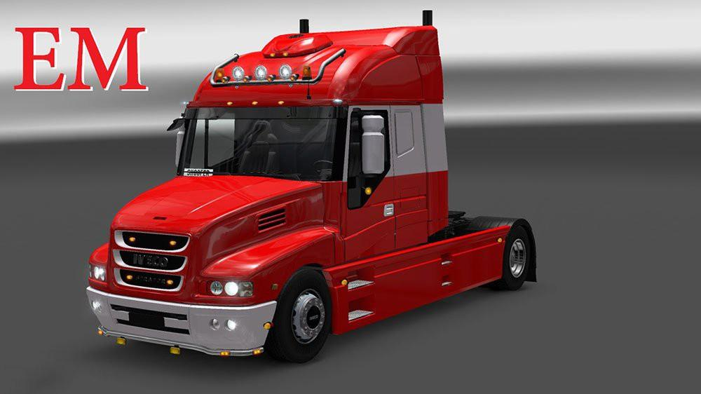 Iveco strator and volvo fh 2013 tuning mod euro truck