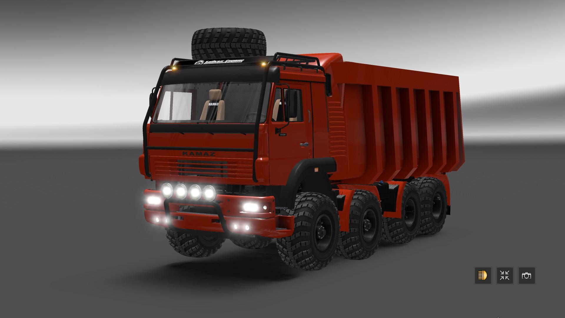 Kamaz 8x8 monster truck update 12 03 v1 1