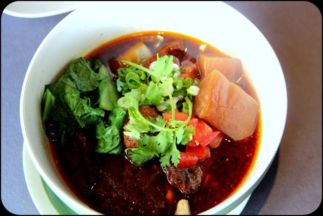 Best beef noodles in Taipei