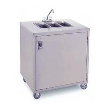 Crown Verity Cvphs 3 Portable 3 Compartment Hand Sink