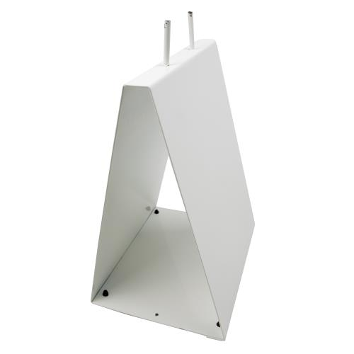 Elkay Dpstand White Metal Saddle Pack Stand Etundra