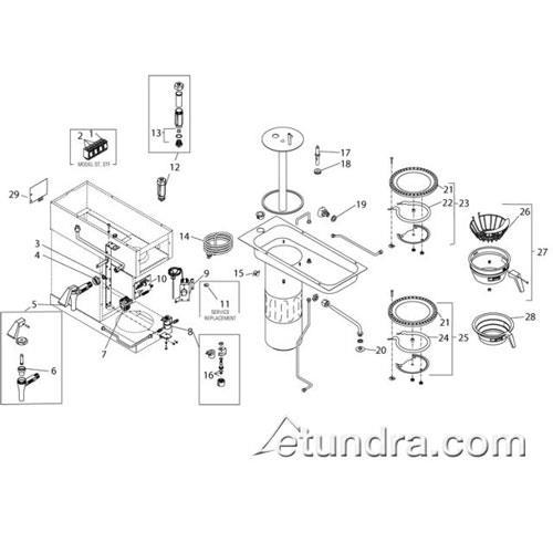 bunn parts catalog wiring diagram