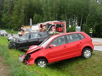 Verkehrsunfall bei Kreuzung Kirchbach