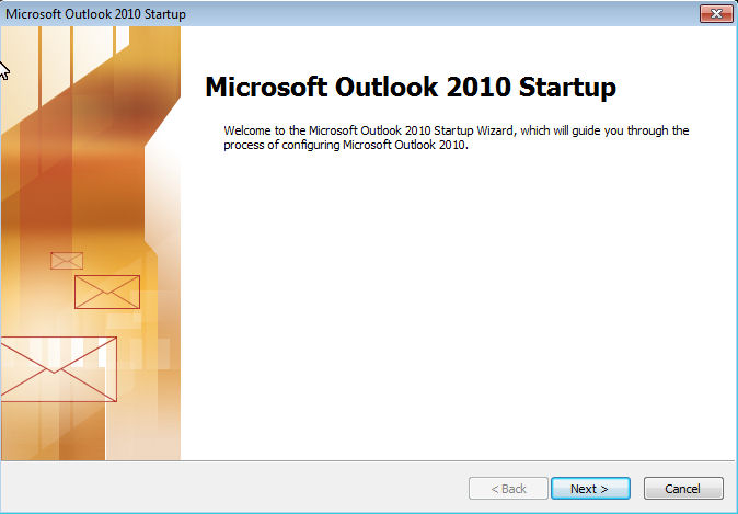Automatic Configuration of MS Outlook 2007 or Later for Use with