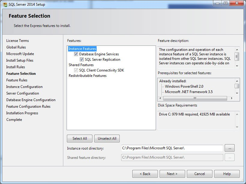 How to Install Microsoft SQL Server Express 2014?