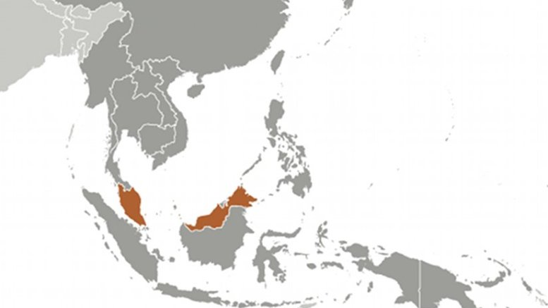 Location of Malaysia. Source: CIA World Factbook.