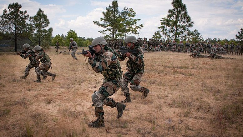 Indian Army Soldiers. Photo Credit: U.S. Army photo by Sgt. Michael J. MacLeod.