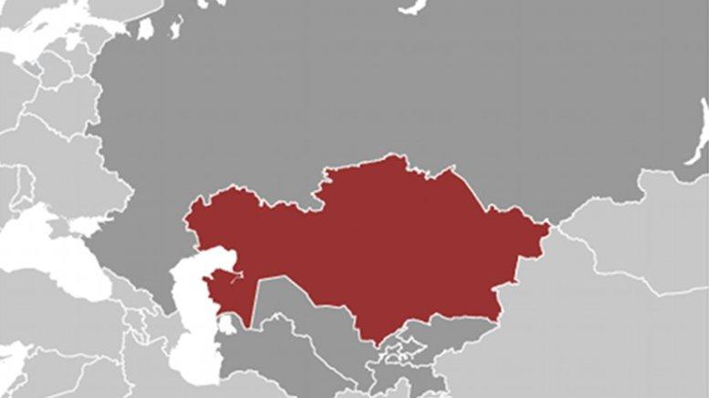 Location of Kazakhstan. Source: CIA World Factbook.