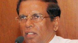 Sri Lanka's Maithripala Sirisena. Source: Sri Lanka government.