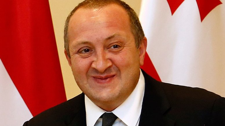 Georgia's Giorgi Margvelashvili. Photo by Bundesministerium für Europa, Integration und Äusseres, Wikipedia Commons.