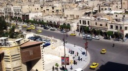 The old Christian quarter of Jdeydeh, Aleppo. Photo by Kevorkmail, Wikipedia Commons.
