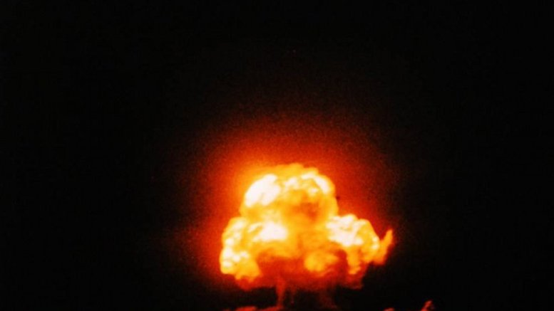 an analysis of the first us atomic test called trinity The first atomic bomb, the gadget, 1945 the nuclear test of the first detonation of a nuclear weapon was codenamed trinity, but the atomic device was nicknamed the gadget  the date of the trinity test is usually considered to be the beginning of the atomic age.