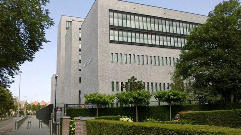 Europol Headquaters at the Eisenhowerlaan in The Hague, the Netherlands. Photo by OSeveno, Wikipedia Commons.