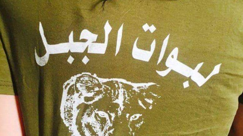 Labawat al-Jabal shirt. Photo via Syria Comment