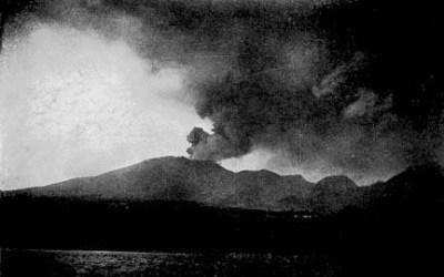 en quelle année a eu lieu l'éruption de la montagne pelée ?
