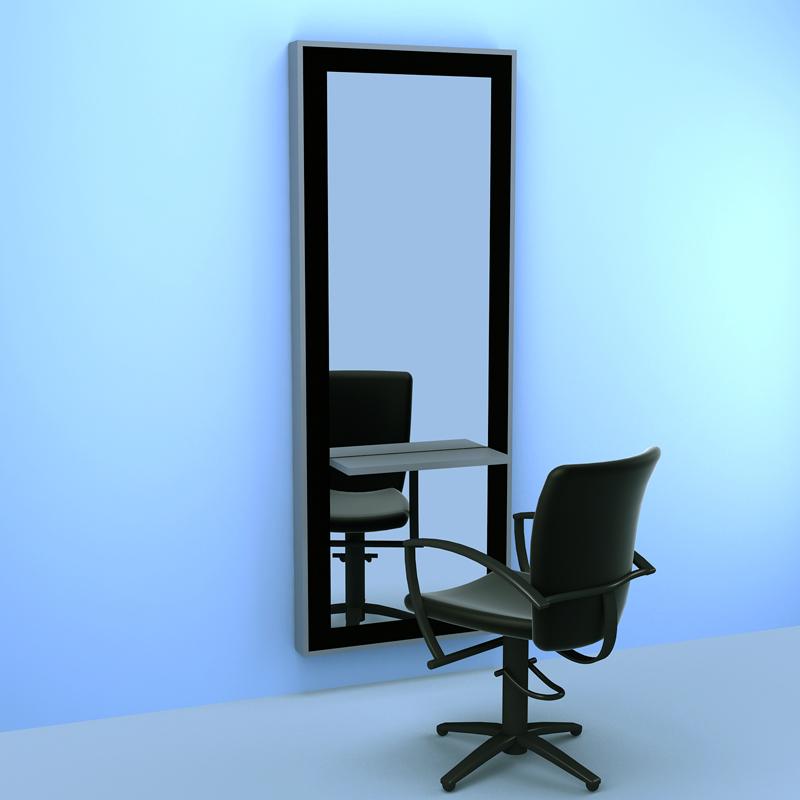 Lucas Wall Mirror BK LQ