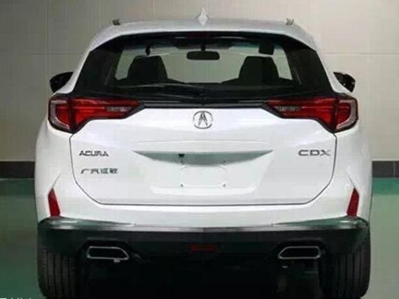 Acura-CDX-rear-leaked-image