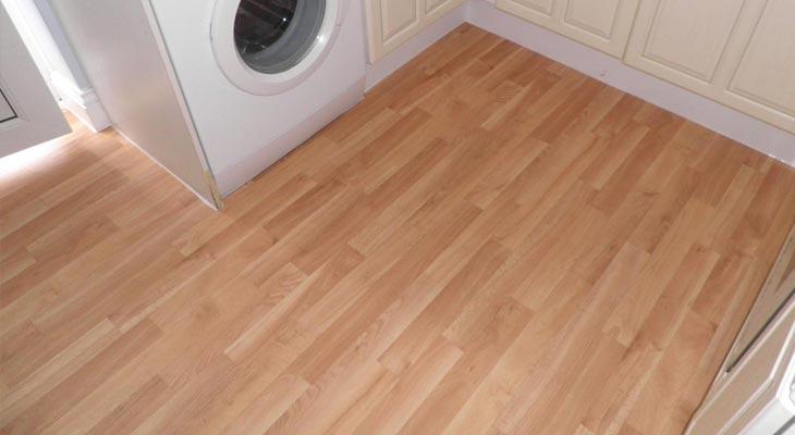 Lino Flooring Kitchen - Ivoiregion